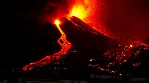 Volcán de La Palma: la lava avanza actualmente muy lenta y es posible que no llegue a la costa