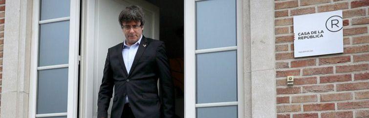 Puigdemont, detenido en Cerdeña por las autoridades italianas