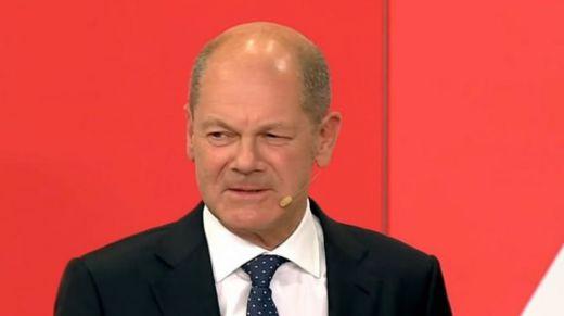 Olaf Scholz del SPD