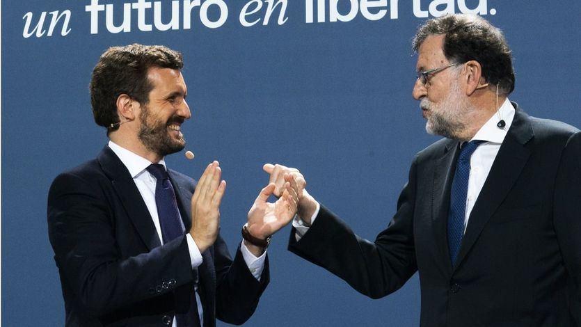 Rajoy reaparece para arropar a Casado en la Convención Nacional del PP