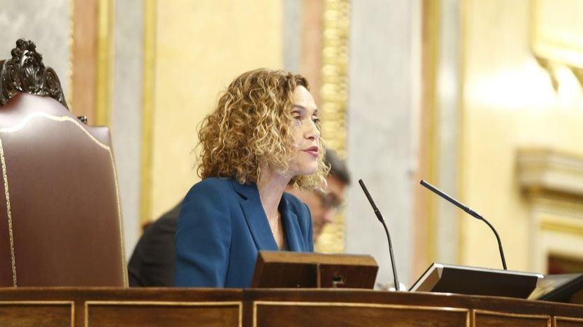 Batet abronca a los diputados: 'Los insultos y las ofensas deben quedar fuera del Congreso'