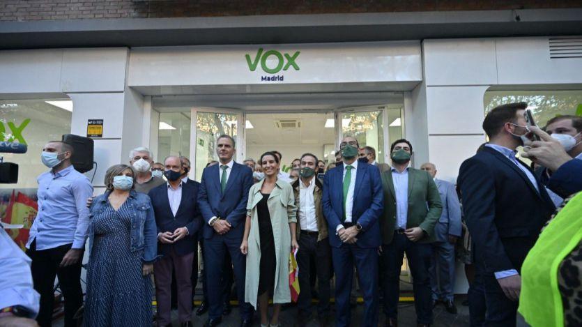 Inauguración de la nueva sede de Vox en Madrid