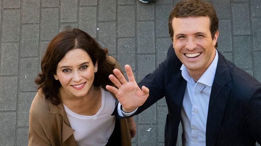 Ayuso deja claras sus posiciones en el PP: 'Voy a ir a la convención a dar mi apoyo a Casado'