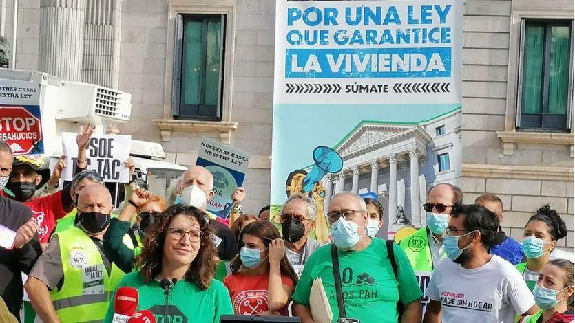 Podemos y los socios del Gobierno elevan la presión sobre el PSOE para aprobar la Ley de Vivienda