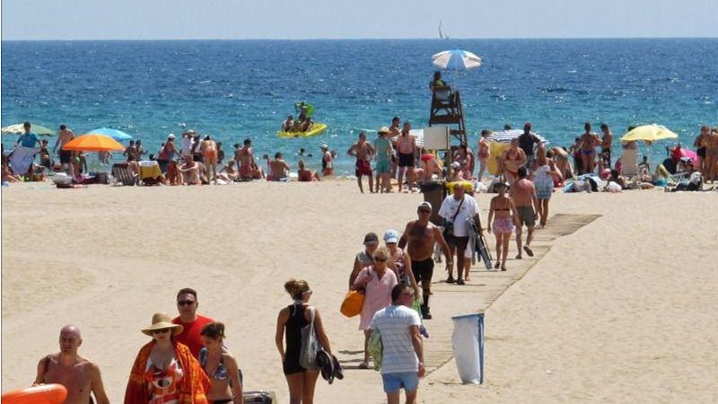 Un agosto muy optimista para el turismo en España: 5,2 millones de turistas internacionales
