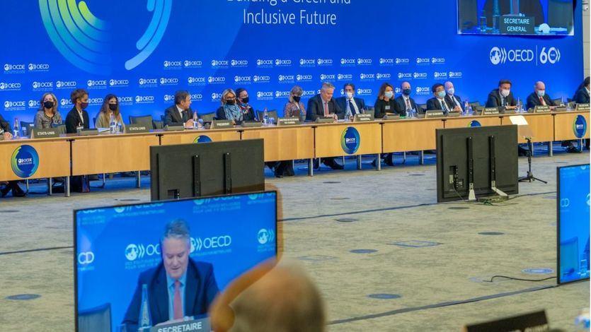 La OCDE confirma el respaldo de 136 países al tipo mínimo del 15% en el impuesto de Sociedades
