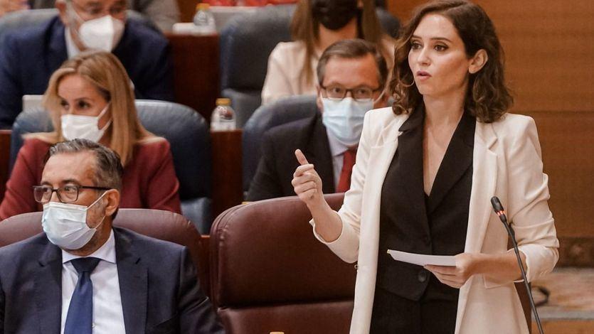 Ayuso carga contra el PSOE y critica los Presupuestos del Gobierno porque 'roban' a Madrid