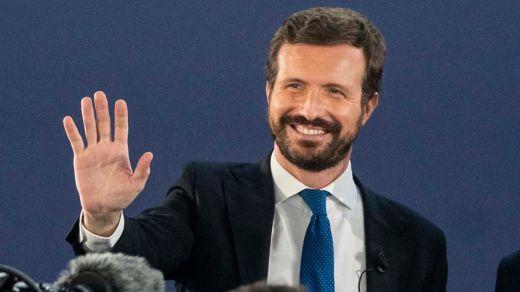 Casado, con Aznar