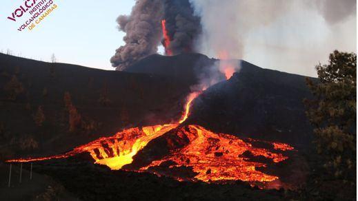 Volcán de La Palma: la lava ha arrasado 886 hectáreas y más de 2.000 edificaciones