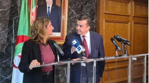 Ribera asegura que Argelia se compromete a garantizar el suministro de gas a España