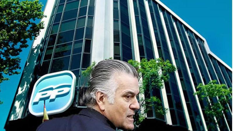 Bárcenas, condenado a 2 años de cárcel por pagar en negro las obras de la sede del PP