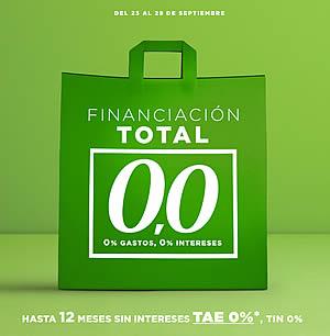 El Corte Inglés lanza 'Financiación Total 0,0' sólo para los clientes con tarjeta de compra