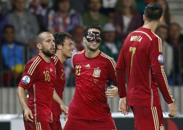Eurocopa 2016: la Roja sufre pero resuelve el engorroso trámite de Bielorrusia (0-1)