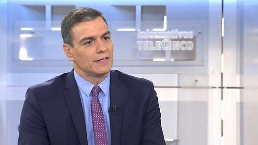 Sánchez insinúa que Torra y dirigentes soberanistas estarían siendo investigados por la Policía y CNI