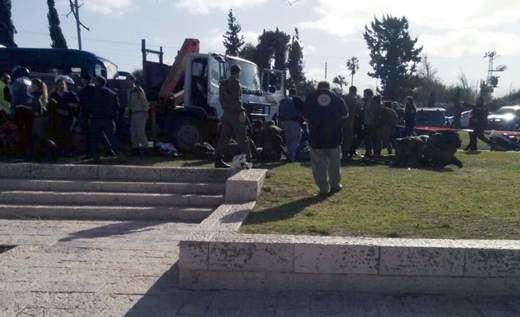 Al menos 4 soldados muertos en Israel en un ataque perpetrado con un camión
