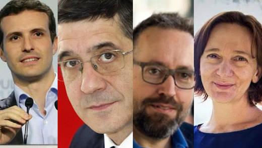 'Hacia una nueva transición', debate con los cuatro grandes partidos estatales