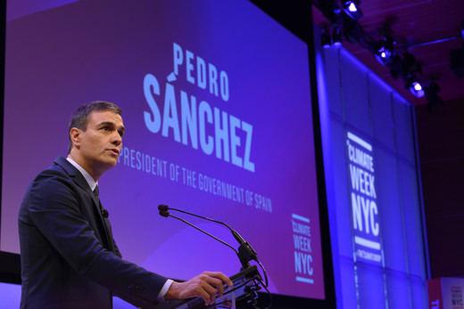 Pedro Sánchez participa en la inauguración de la Climate Week Nueva York