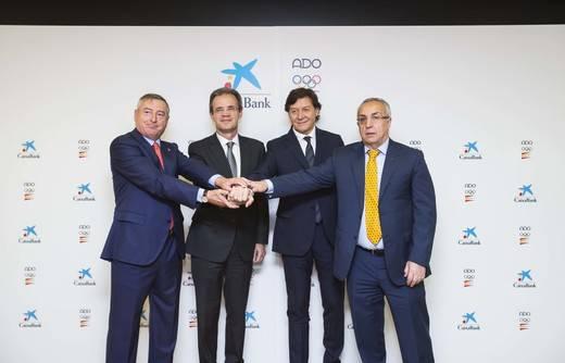 CaixaBank renueva el patrocinio del Plan ADO para el ciclo Tokio 2020