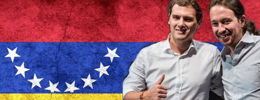 La 'guerra venezolana' entre Rivera e Iglesias: ¿iba Podemos al país de Chávez a por