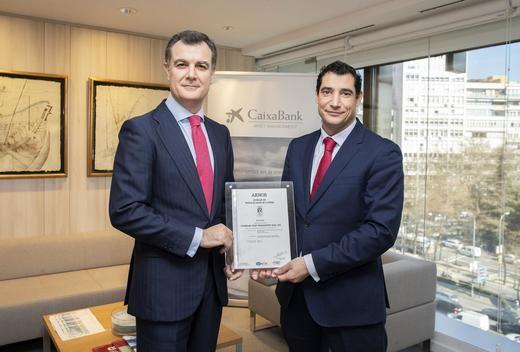 CaixaBank Asset Management, primera entidad gestora de fondos certificada por AENOR
