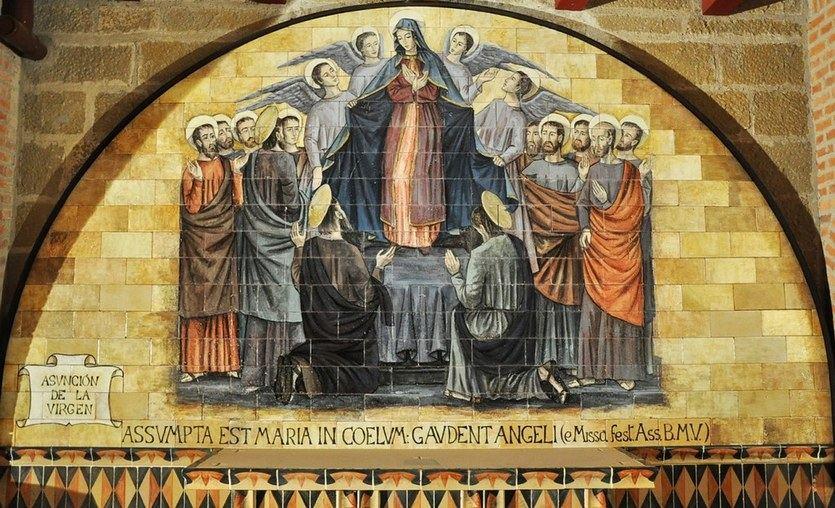 El vuelo mágico de la Virgen María
