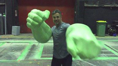Hulk se cuela en la tercera parte de 'Thor' pegando fuerte (v�deo)