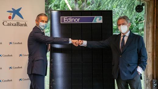 Edinor y CaixaBank colaboran en desarrollar las comunidades energéticas locales (CEL)