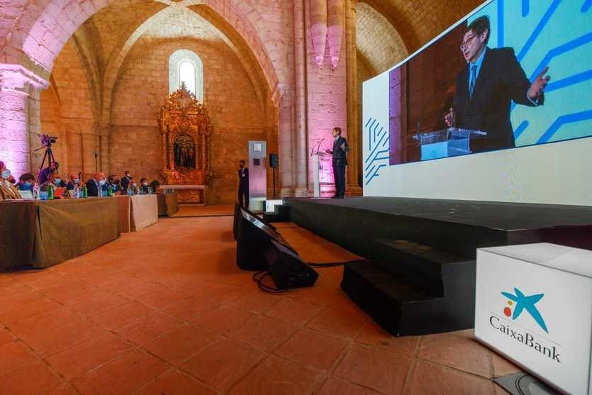 Goirigolzarri: 'La banca debe jugar un papel de enorme relevancia en la utilización de los fondos europeos, la sostenibilidad y la digitalización de nuestra sociedad'