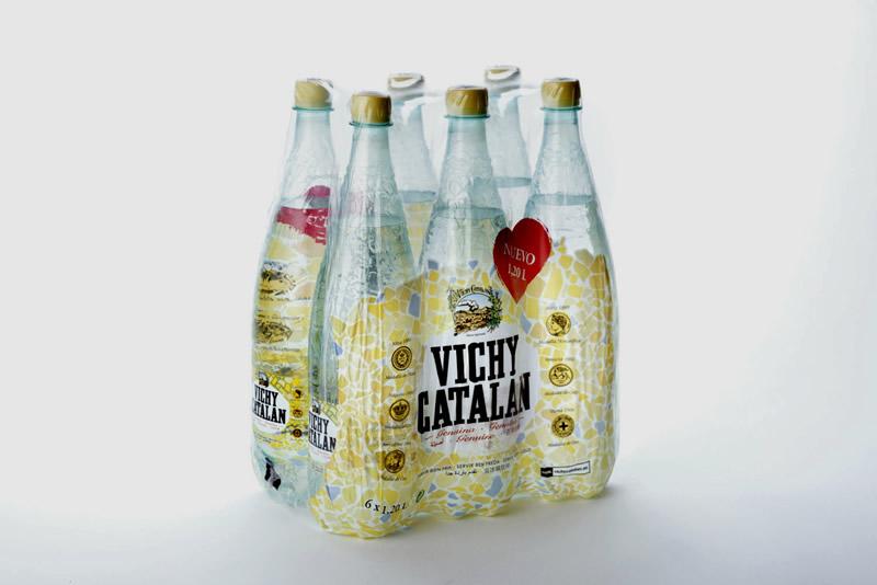 El nuevo envase de 1,2 litros de Vichy Catalan, de premio