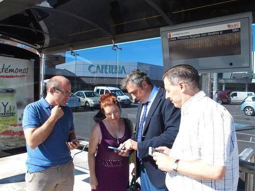 Una web informará sobre el tiempo de espera del autobús en Cuenca