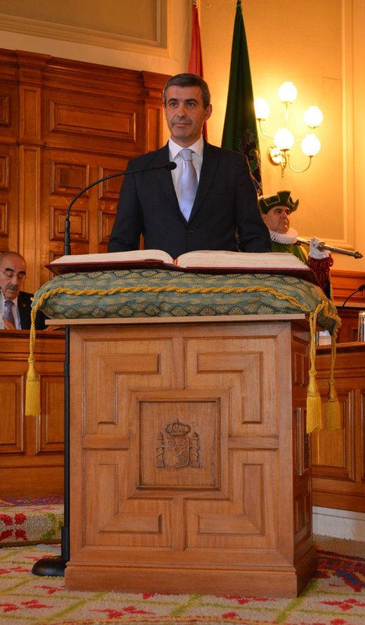 Álvaro Gutiérrez promete diálogo y transparencia para que Diputación Toledo abandone el