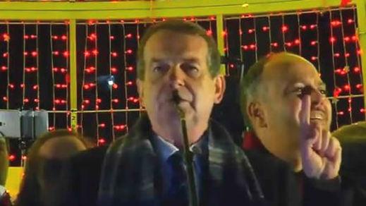 Abel Caballero y su discurso en 'espanglish' en Vigo del que todos se mofan