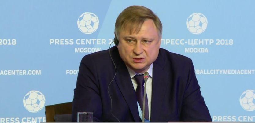 Alexei Lavrischev Jefe de seguridad del Mundial de fútbol 2018
