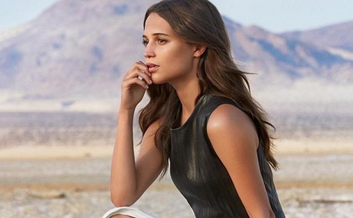 Alicia Vikander será la nueva Lara Croft en el remake de 'Tomb Raider'