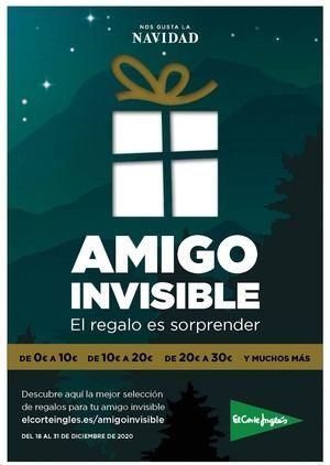 El Corte Inglés estrena la campaña 'Amigo Invisible' con una propuesta comercial por rangos de precio