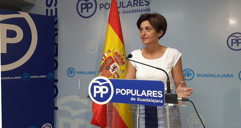 senadora, Ana Guarinos . Fuente PP-CLM