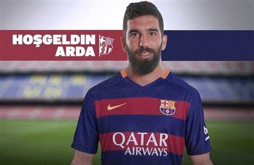 El Barcelona confirma el fichaje de Arda Turan con una opción de venta hasta el 20 de julio