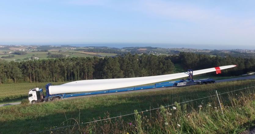 Iberdrola afronta en Asturias la construcción más compleja de parques eólicos en España