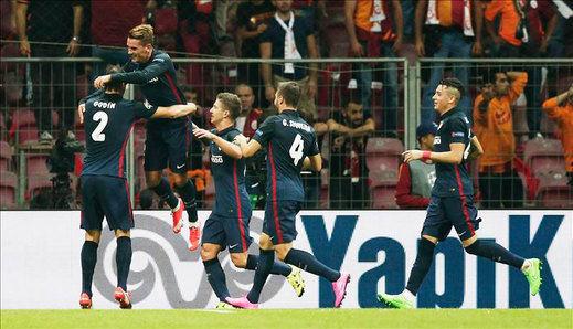 El Atlético y Griezmann resuelven en 25 minutos (0-2)
