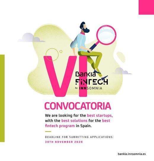 Bankia Fintech by Innsomnia lanza su VI convocatoria con nuevos retos para diseñar la banca del futuro