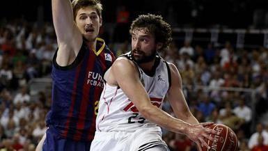 El morbo está servido: el Madrd busca celebrar el título ACB en el Palau de un Barça al borde del KO