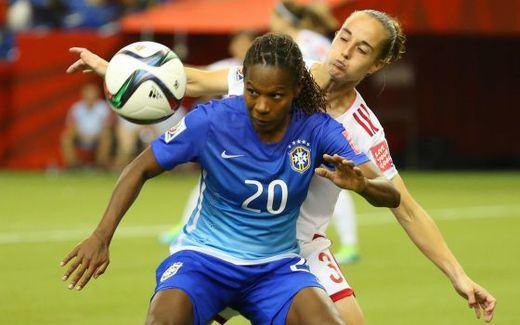 Mundial femenino: La Roja tutea a Brasil pero acaba perdiendo (1-0)