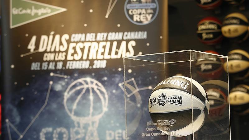 El Corte Inglés y ACB presentan el primer balón creado exclusivamente para la Copa del Rey