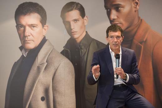 Antonio Banderas protagoniza de nuevo la campaña de moda masculina de El Corte Inglés