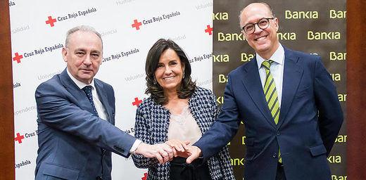Bankia apoya con 450.000 euros programas sociales de Cruz Roja para empleabilidad