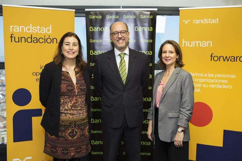 Bankia y Randstad renuevan su programa 'Empleo en Red'