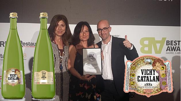 La botella de Vichy Catalán 1881 obtiene un Best Awards de plata