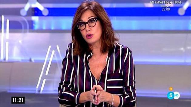Ana Rosa Quintana aclara su frase sobre la joven neonazi: 'Me parece bien que le hayan partido la cara'