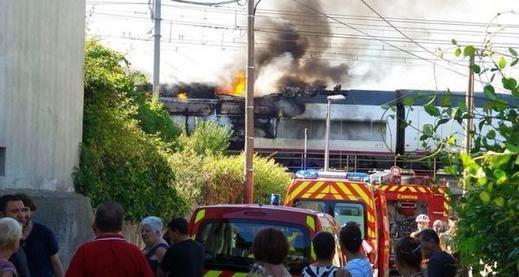 300 viajeros evacuados en el AVE Marsella-Madrid