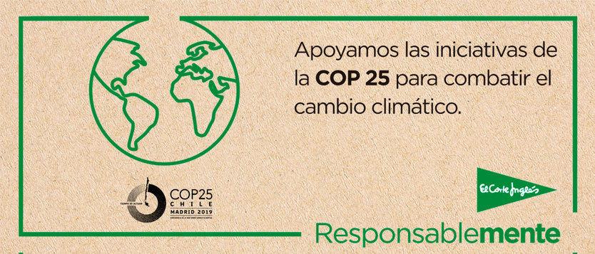 El Corte Inglés muestra su compromiso contra el cambio climático con diversas iniciativas medioambientales